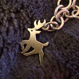 Retired James Avery Deer Charm